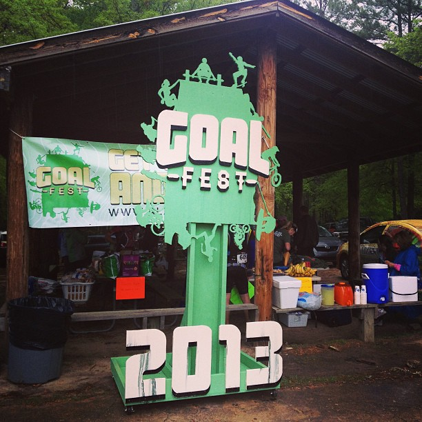 It's going to be a wet Chewacla Challenge. Lets get to it! #goalfest