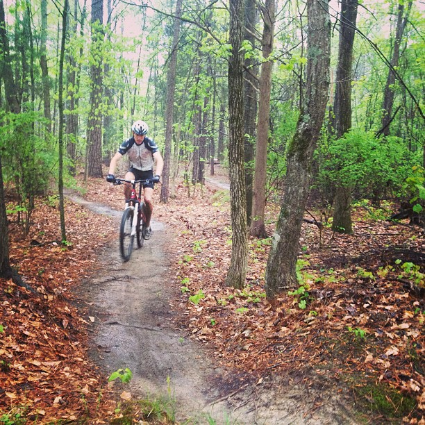 "Micheal ""skiing"" the wet course at Chewacla. #goalfest #imba #camp"