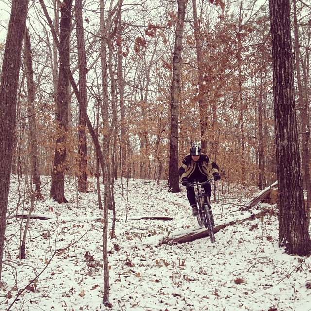 Snow riding at zland.
