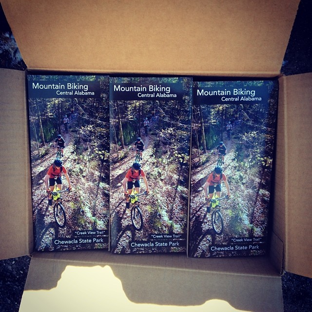 5,000 of these are being shipped to different visitor centers around the state. Proud!