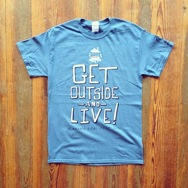 Get Outside And Live! #100happydays