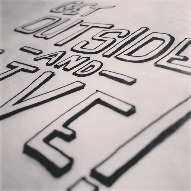 More hand lettering. #100happydays