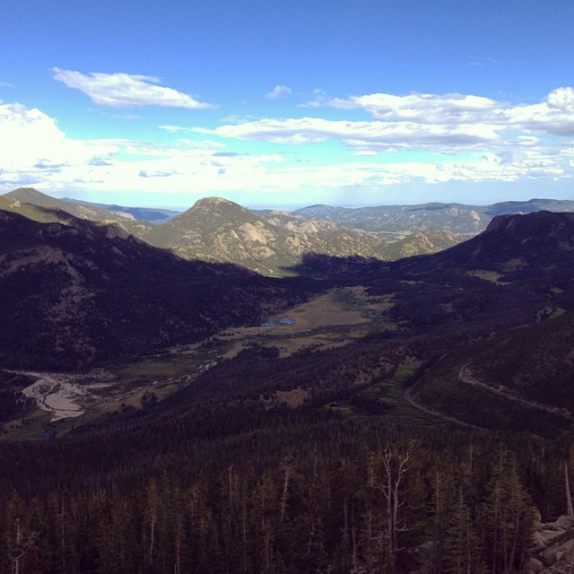 Rocky Mountain National Park. #imbaws14