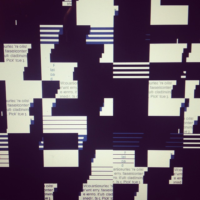 This is just my computer trying to be creative right?!
