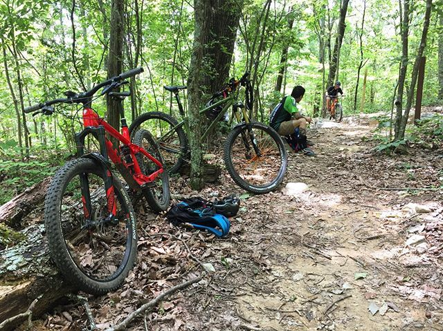 A last minute Coldwater trip is always a good idea. #mtbalabama #wahooligan #trekremedy #konabikes