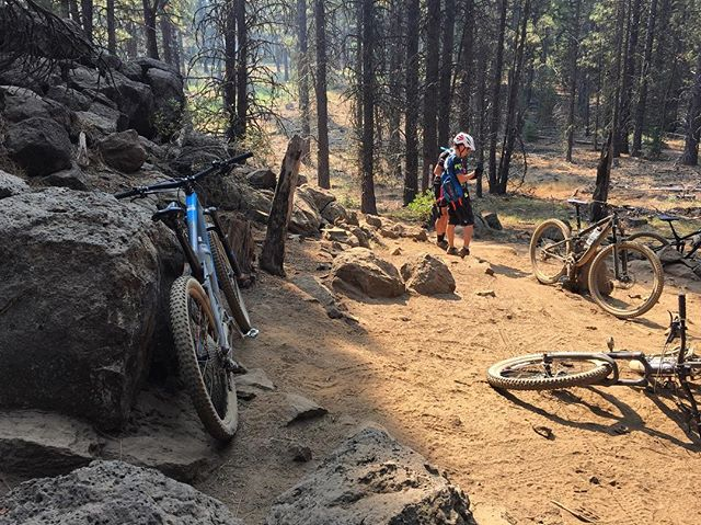 Bend is pretty dope y'all. #trektravel #jamesbrosbikes